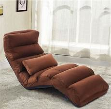 folding floor sofa chair adjustable lazy lounge bed single