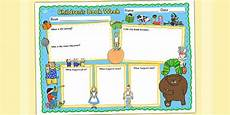childrens story template children s book week book review template teacher made