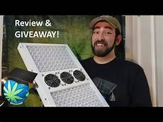 Led Grow Light Giveaway Viparspectra Par700 Led Grow Light Review Amp Giveaway Youtube
