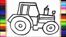 Malvorlagen Kinder Traktor Wie Zeichnet Traktor Malvorlagen F 252 R Kinder Traktor