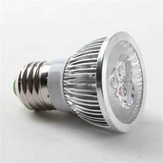 Al Light Bulbs Aluminium Shell E27 3w Led Spot Light Bulbs Lamp Warm