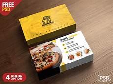 Restaurant Business Card Restaurant Business Card Psd Template Download Psd