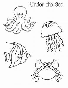 the sea coloring pages to and print for free