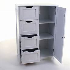 4 drawer cabinet bathroom storage unit chest cupboard