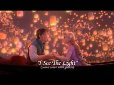 I See The Light Guitar I See The Light Tangled Piano Cover With Guitar Youtube