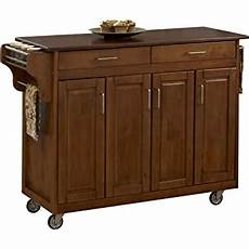 cherry kitchen island cart home styles create a cart cherry finish with