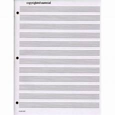 Manuscript Paper Standard Wirebound Manuscript Paper Shar Music