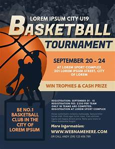 Basketball Tournament Program Template Basketball Tournament Flyer Temp Template Postermywall