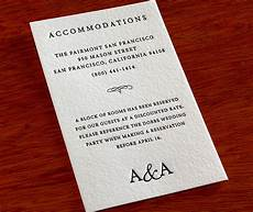 How To Word Hotel Accommodations For Wedding Invitations Invitation Suite Overview Part 2 4 Additional Invitation