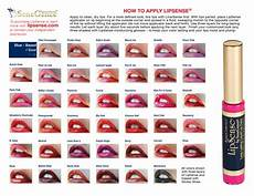 Lip Color Chart What Is Lipsense And Why It Works