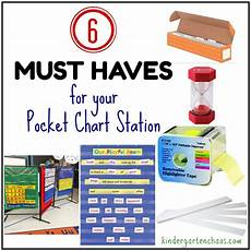 Pocket Chart Poems For Kindergarten The Pocket Chart Station In The Kindergarten Classroom