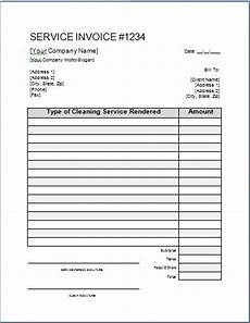 moving company receipt template printable cleaning invoice template 17 free cleaning