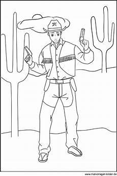 ausmalbilder cowboy image gallery