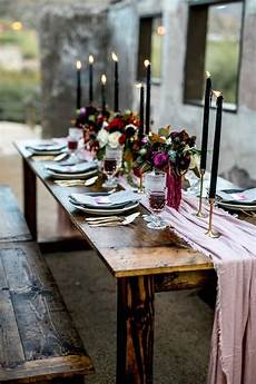 pastel colored wedding tablescape with a powder pink table