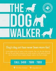 Dog Walker Flyers Effective Dog Walking Flyer Design And Content Tips