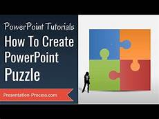 How To Create Template For Powerpoint How To Create Puzzle In Powerpoint Diagram Series Youtube