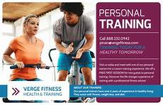 Training Advertisement Template Personal Trainer Promotional Ad Postcard Template