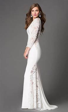 sleeve homecoming dresses xcite sleeve lace illusion dress promgirl