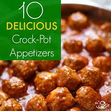 10 amazing appetizer recipes you can make in your crock