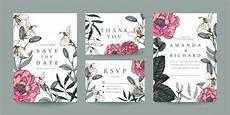 thank you card template free vector wedding invitation rsvp card thank you card template