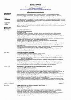 Administrative Functional Resume Administrative Functional Resume 2