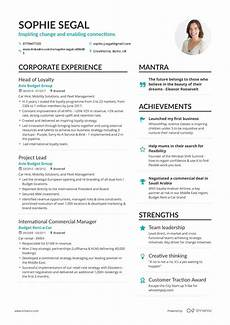 Example Of A Resume Real Department Head Resume Example Enhancv
