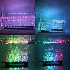 Best Aquarium Lights 46cm Dc 12v Led Air Bubble Light Water Underwater Aquarium