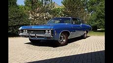 69 Chevy Impala Lights 1969 Chevrolet Chevy Impala Custom Ss In Blue Amp 427 Engine