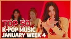 2018 Pop Charts Top 50 K Pop Songs Chart January Week 4 2018 Youtube
