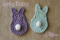 stricken ostern the blue bird bunny tutorial