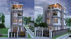 Www Home Design Story Narrow House 4 Stories House Plan Design Sketchup