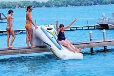 Floating Slide Rave Dock Slide Commercial Recreation Specialists