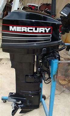 25 Hp Mercury Outboard Boat Long Shaft Electric Start