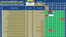 Manual Attendance Register Format Attendance Excel Sheet C Punkt