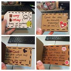 How To Make A Coupon Book For My Boyfriend Birthday Coupon Book For My Husband Diy Add In Any