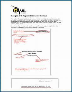 Free Apa Format Program Free Apa Literature Review Format Template Templateral