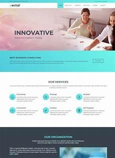 Sample Templates For Website Business Html Website Template Free Webthemez