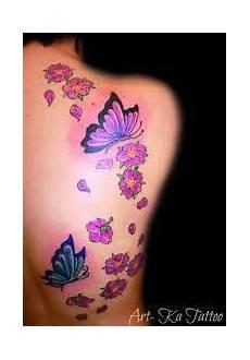 tatuaggio fiore e farfalla braccio fiori e farfalle cerca con half
