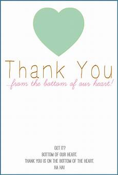 Thank You Cards To Print Free Printable Thank You Card A Freebie From Nelliebellie