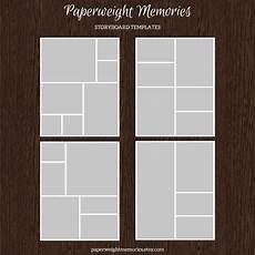 Photos Layout Templates 4 16x20 Collage Boards Psd Templates Templates