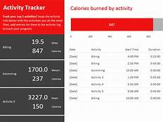 Track Daily Activities Activity Tracker Office Templates