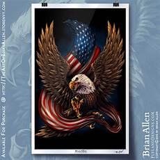 Allen Eagle Designs American Eagle And Flag Flyland Designs Freelance
