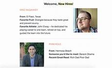 New Hire Announcement 9 Creative Ways In 2020 To Make Memorable New Employee