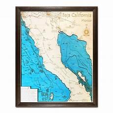 Baja Charts Baja Ca 3 D Nautical Wood Chart