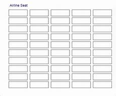 Sample Seating Charts Free 20 Printable Seating Chart Templates In Illustrator