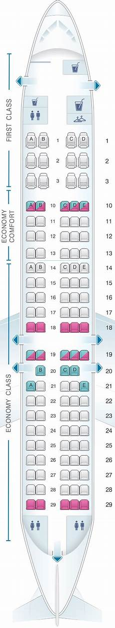 Delta Airlines Seating Chart Seat Map Delta Air Lines Boeing B717 200 Seatmaestro
