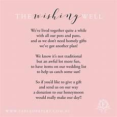 Wedding List Poems Wishing Well Poems Wishing Well Poems Wishing Well Poems