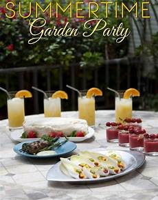 Summertime Party Menus Summertime Garden Party Menu Dinner Party Menu