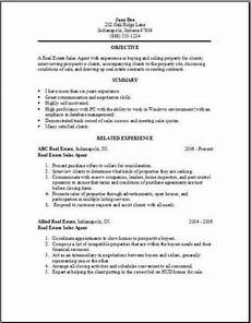 Real Estate Sample Resume Real Estate Resume Examples Samples Free Edit With Word