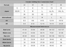 Women S Clothing Conversion Chart Sizing Guides Take2new